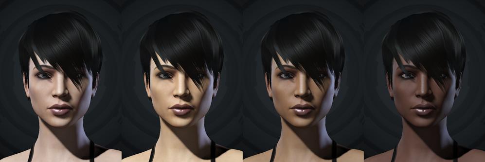 Больше вариантов цвета кожи! :: Дев блог :: EVE-ONLINE :: EVE-RU