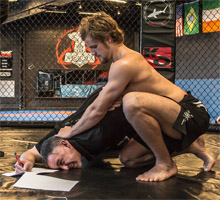 CCP's Chief Marketing Officer 'negotiates' MMA fighter Gunnar Nelson's contract