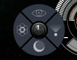 The scanner radial menu