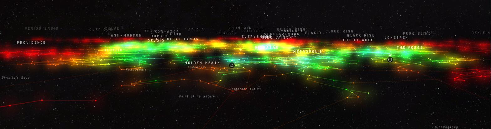 Starmap Improvements  A Map To Treasure  EVE Community