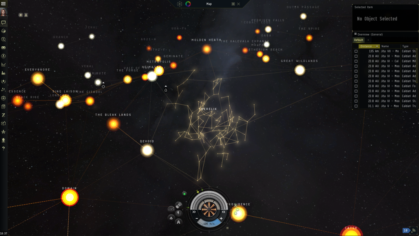 Dev Blog Starmap Improvements A Map To Treasure - Star map now
