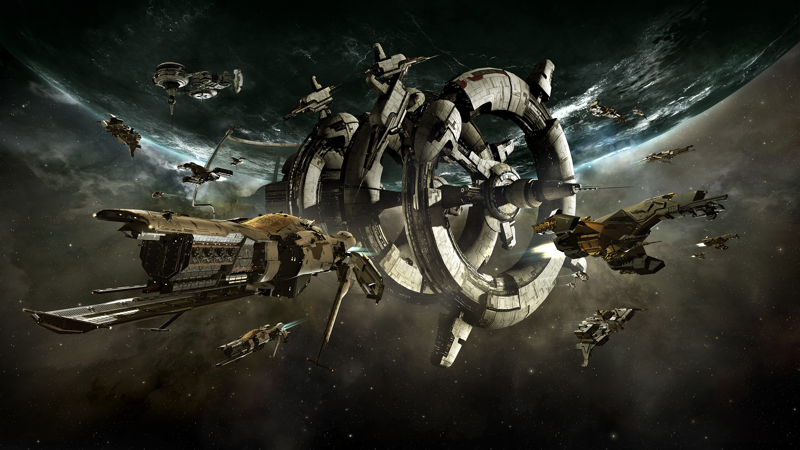 EVE Online - New ships and star systems in Rhea release
