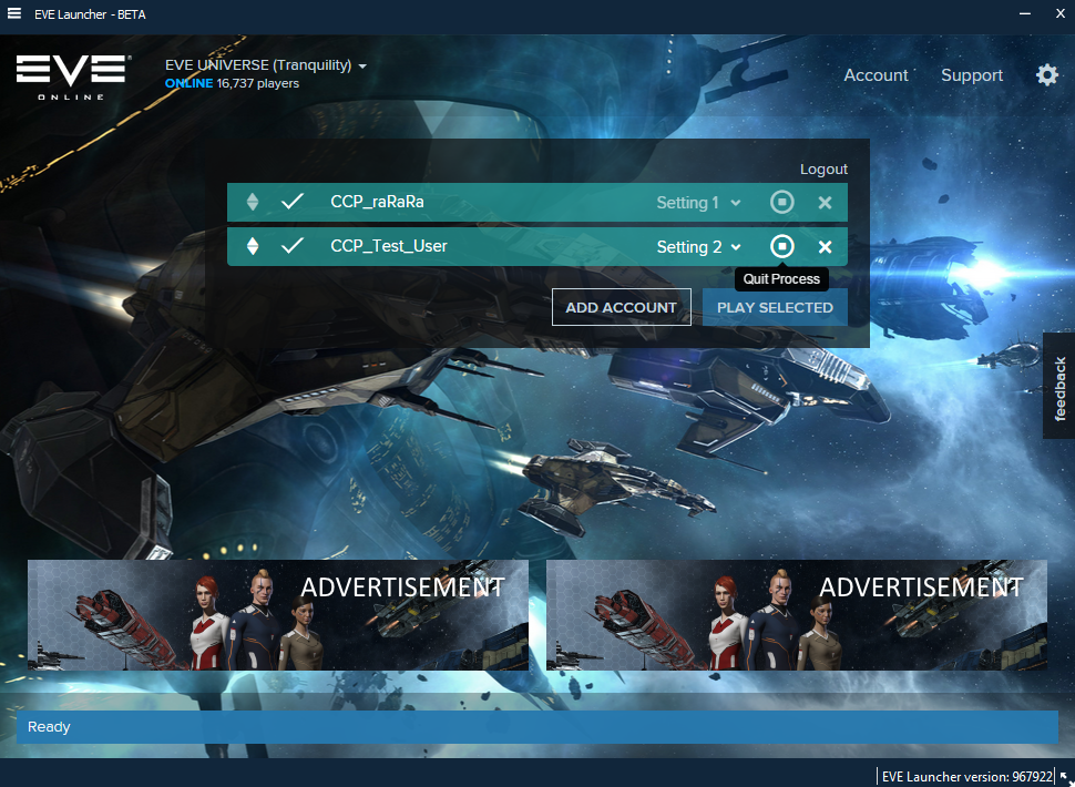 how to fix eve online launcher