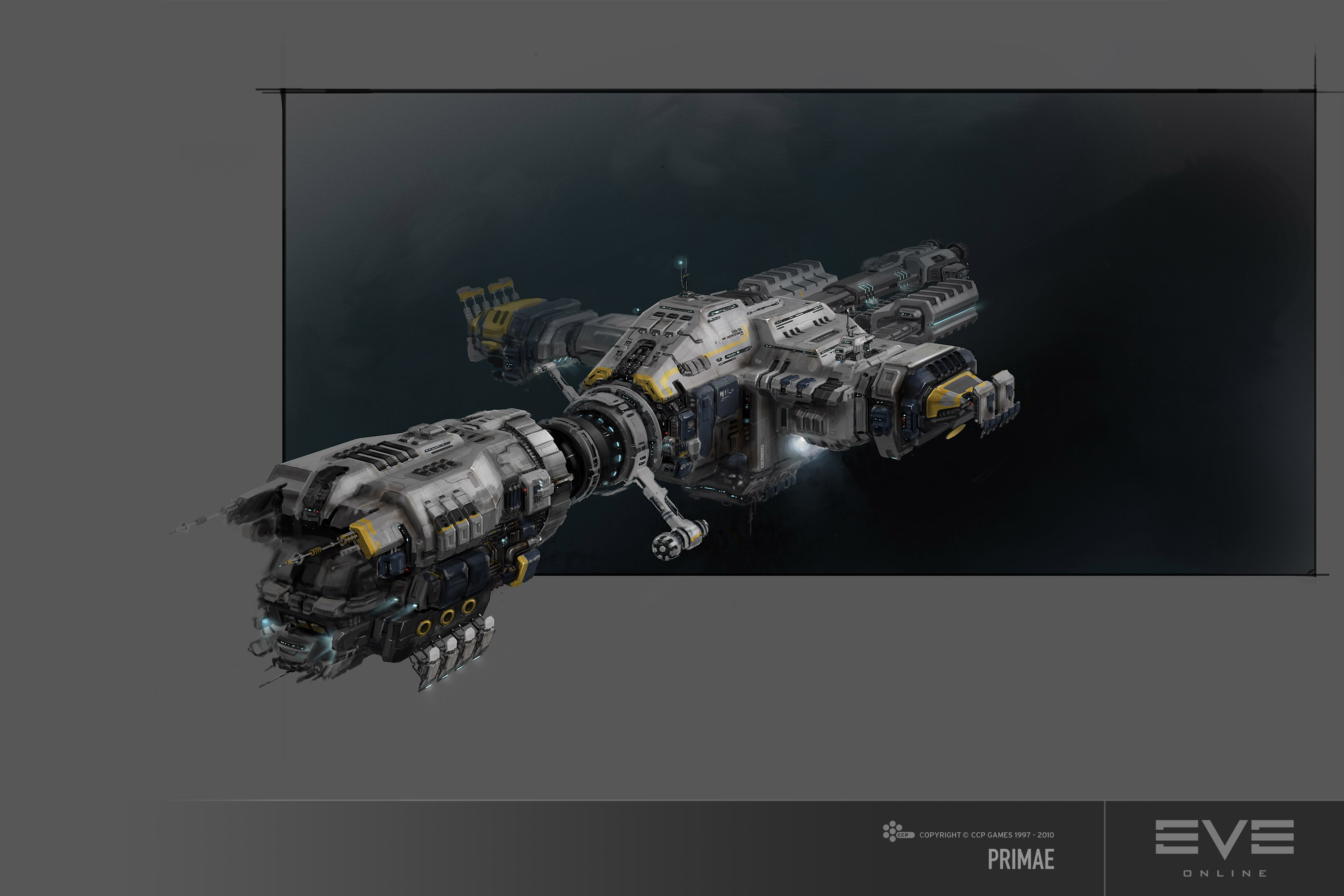 eve online ore primae ship nearing distribution a gift for all