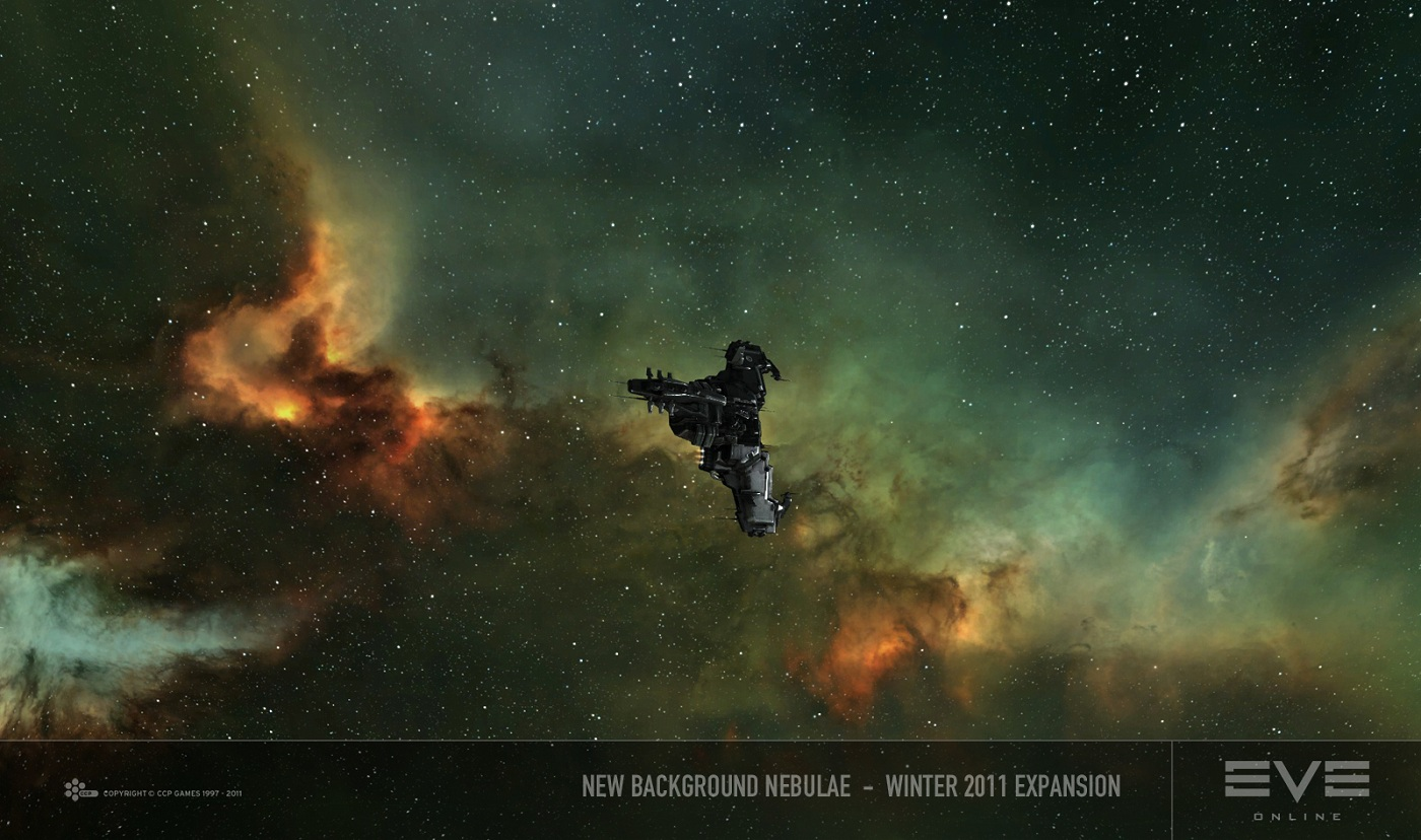 Introducing New Nebulae into EVE | EVE Online