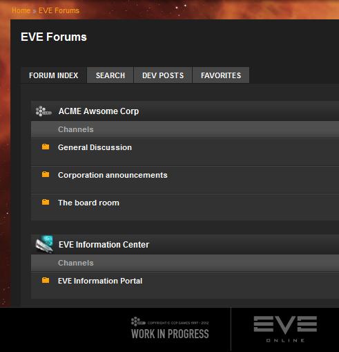 Eve Forum