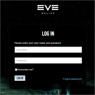 Eve Account Manager