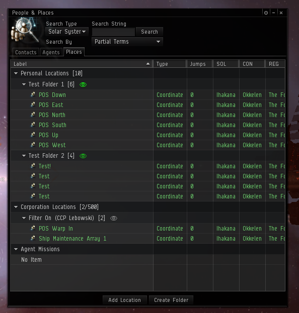 how to make a bookmark eve online