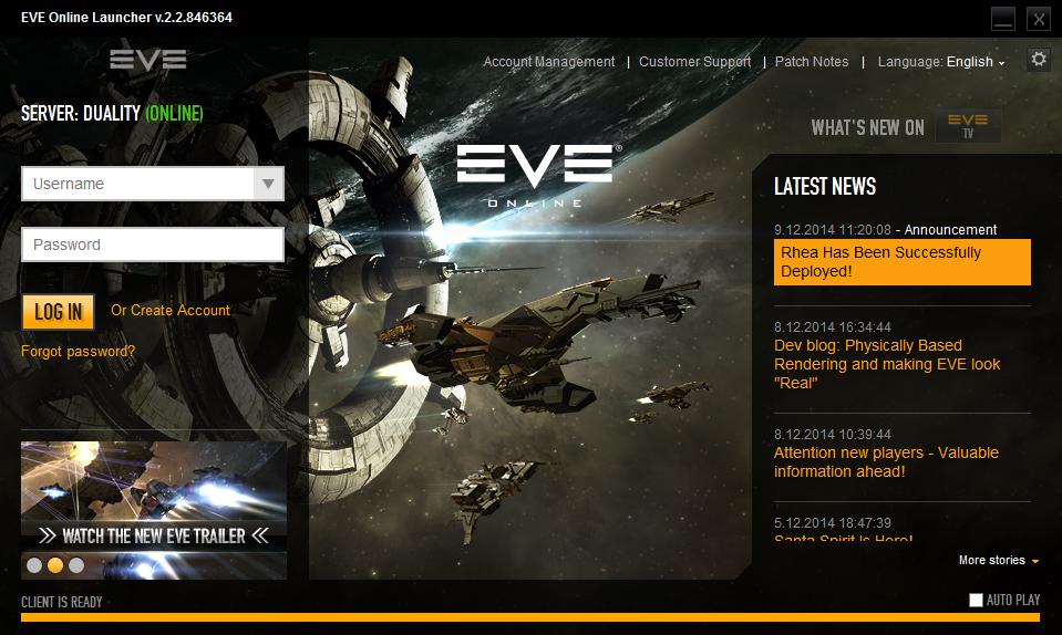 Dev Blog: Download on Demand client for EVE Online