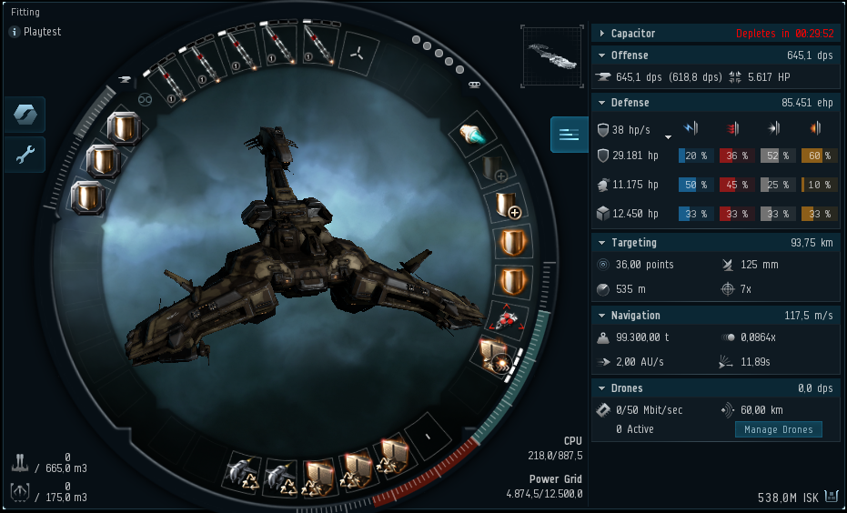 Eve Online Low Slot