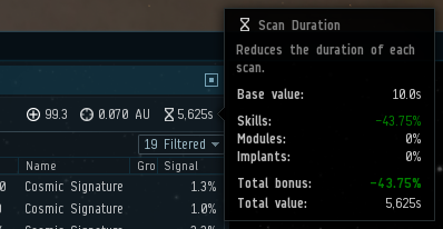 The future of probe and directional scanning UI | EVE Online