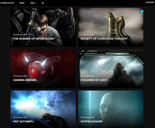 Eve online storylines